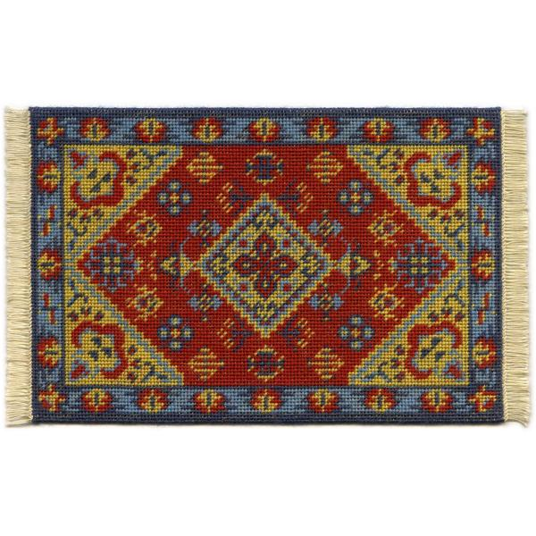 Katrina dollhouse needlepoint carpet