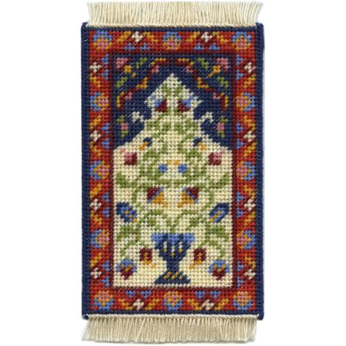 Natalia dollhouse needlepoint carpet