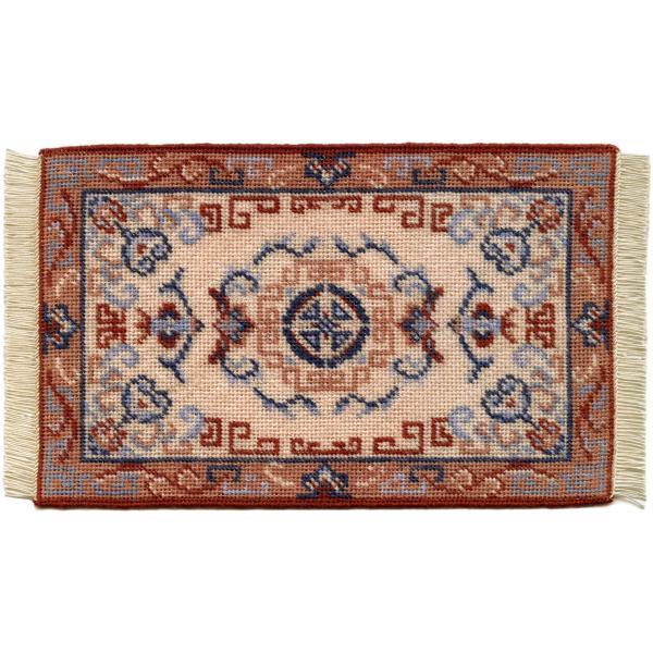 Patricia dollhouse needlepoint carpet