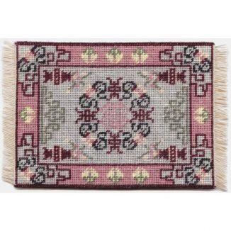 Ruth dollhouse needlepoint carpet
