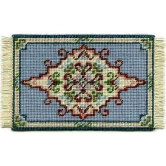 Sophie dollhouse needlepoint carpet