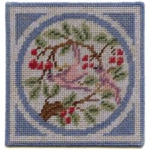 Victoria dollhouse needlepoint carpet
