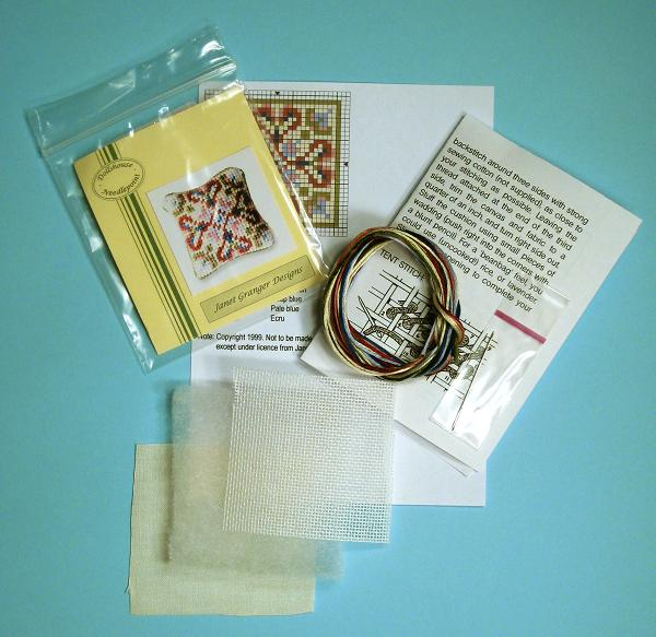 Contents of a cushion kit