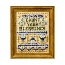 Count Your Blessings dollhouse needlepoint sampler kit