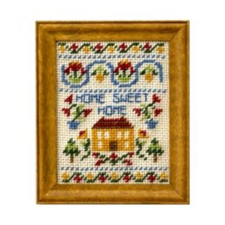 Home Sweet Home dollhouse needlepoint sampler kit