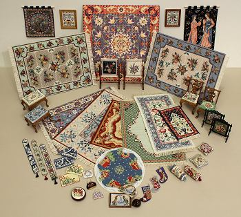 Selection of needlepoint kits