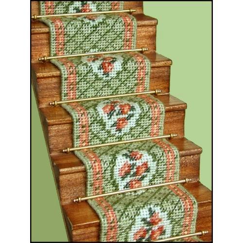 Barbara Green Dollhouse Needlepoint Staircarpet Kit