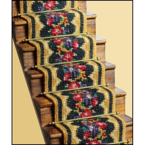 Berlin Woolwork staircarpet on stairs