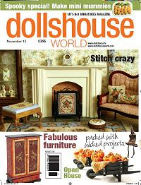 Cover of the Doll House World magazine Sept 2012