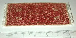 "A ""Rosanna"" carpet stitched on 48 count silk gauze"