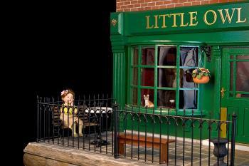"Dollhouse pub, called ""The Little Owl"""