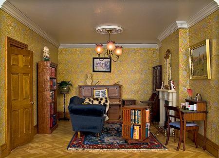 """""""Karen"""" carpet in the drawing room"""