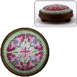 "Dollshouse embroidery footstool kit - ""Anthea"""