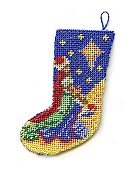 Click to view dollshouse embroidery Christmas Stocking kits