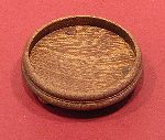 Dollhouse needlepoint tutorial - the wax polished wooden base