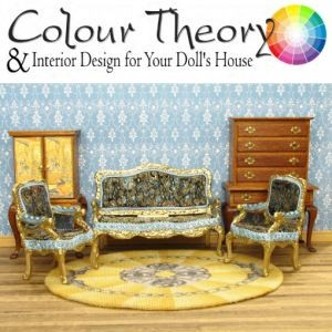 Article about color theory in interior design of dollhouses