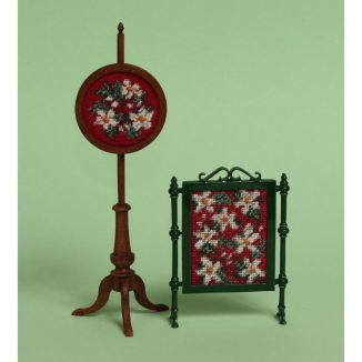 Dollhouse needlepoint Winter collection of kits
