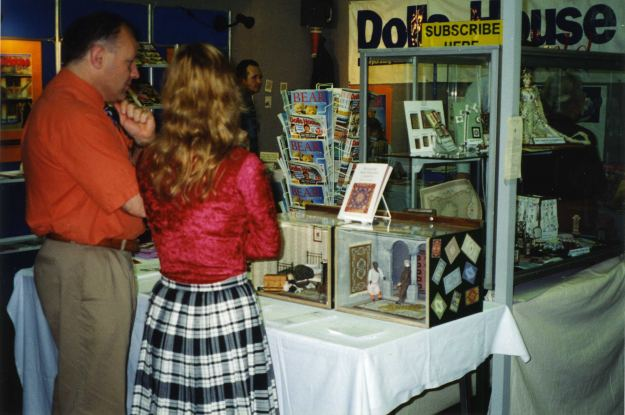 DHW stand, with Barry King
