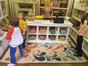 Jo's Sweet shop and Janine carpet
