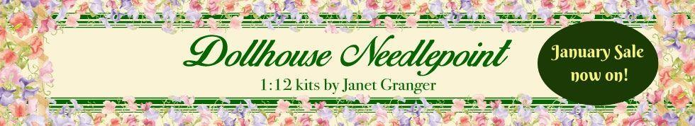 Dollhouse Needlepoint Kits