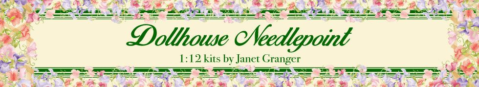 Dollhouse Needlepoint Kits
